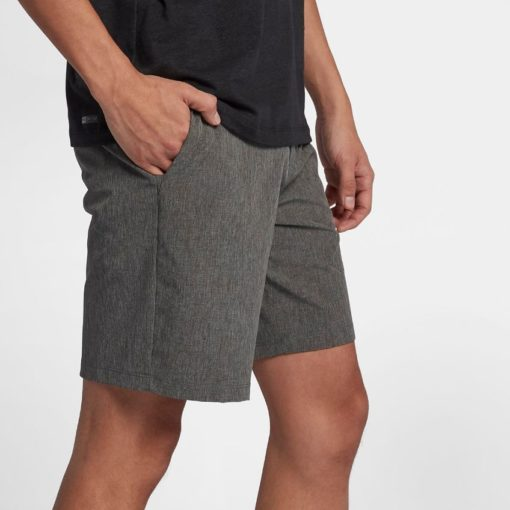 Hurley Phantom short grijs model