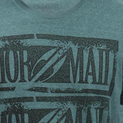 Mormaii-T-shirt- green 180447_closeUP