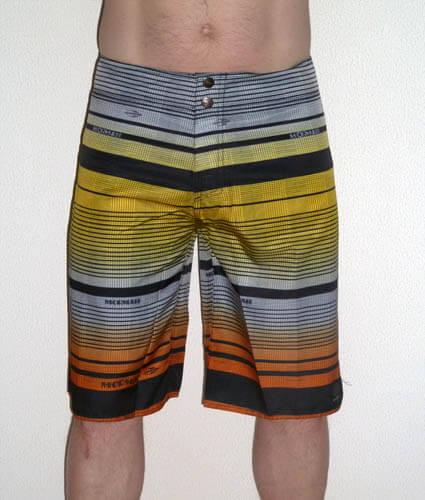 boardshort-zwemshort-korte broek-coral-geel-oranje
