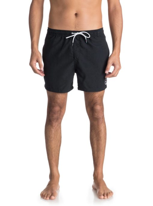 Quiksilver boardshort Everyday Solid zwart 15 inch