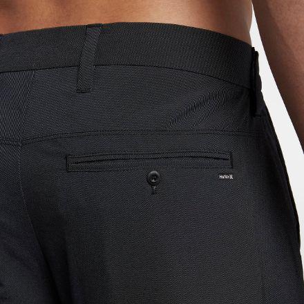 hurley-dri-fit-chino-short zwart detail